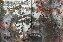 visual diary examples / Visual diary,  Art class 2015