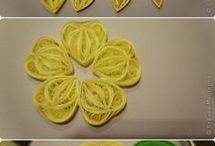 Quilled roses