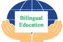 Bilingual Education / Bilingual Education curated for elementary teachers by www.treetopsecret.com.  Please visit my blog for more ideas to help you and your students, Veronica at TreeTop. / by Tree Top Secret Education