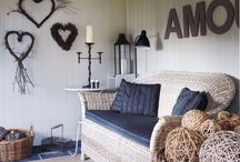 Interiors We Love / Inspiration for interior decoration for our garden buildings