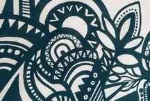 """Portal Estridental / Mural """"Fruto Verde Growshop Talca"""""""