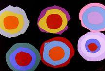Art Projects / children's exploration of art media