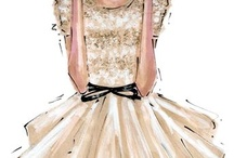 Jason Wu & Anum  Fashion Illustrations