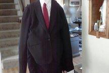 Slenderman costume / Do it yourself costume