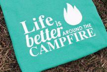 Camping-Themed Shirts