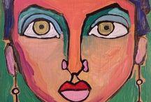 portret i maska