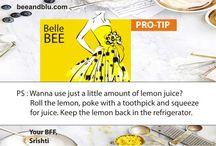 LEMON LOVE @ beeandblu.com: Using the ever versatile lemon my way / BEE & BLU (beeandblu.com): Indian Fashion & Lifestyle Blog shares tips on lemon for beauty & lifestyle tips. Visit for fashion tips, beauty tips, relationship tips, etc.