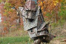 Волшебные домики