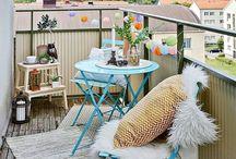 Decoração Varandas / Ideias e inspiração para decorar a varanda, transformando-a num espaço onde apetece estar...