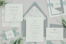 B.design Paper Wedding Invitations