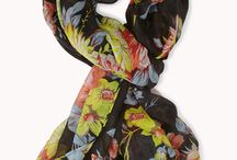 Scarfs / I love a beautiful scarf