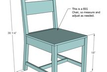 Planos de sillas