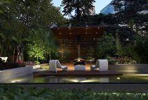 Sleek contemporary gardens