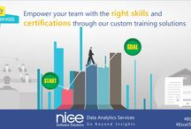Trending Training's on Business Intelligence tools / Fully leverage your investments in Business Intelligence and Data Warehousing products through our training programs.  We deliver custom training solutions on MicroStrategy, Tableau and Informatica, with the right blend of knowledge, skills and expertise. Our training programs help you master the software and learn how to put it to work for you and your organization.