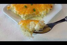 Krumplis, tepsis ételek
