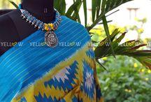 Neckpiece / Yellow is a Designer Online store for Women. A one single stop for Kurtis, Sarees, Office Wear and Kids Wear. www.yellowkurti.com