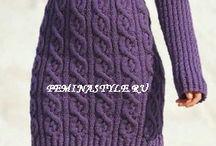 šaty, svetry