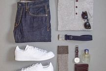 Sportly man outfit