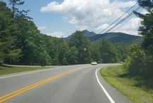 Blue Ridge Mountains - NC / Taking some pics while vacationing in Newland, NC.  Seeing some breathtaking scenery, majestic vistas, and fantastic down home cooking here, & Roan Mtn, TN!