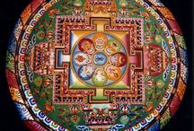 """Mandalas / The word Mandala (pronunciation mon-dah-lah) means """"circle"""".  A Mandala represents wholeness, a cosmic diagram reminding us of our relation to infinity, extending beyond and within our bodies and minds."""