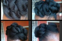 au natural / natural hair styles