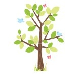 Woodland themed bedrooms / Woodland themed wall stickers and accessories for children's bedrooms