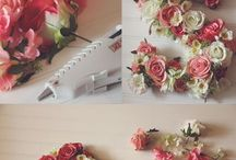 Flower decorations DIY