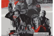 Gabz - Limited Edition Fargo print  / Odd City commissioned the artist Gabz to produce a licensed limited edition print for the Coen brother's iconic dark-as-noir comedy, Fargo. The print will be exclusively released at Paramount Theatre's 8/21 screening of the film in Austin, Texas.
