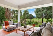 Dragon House / This ultra modern home has a warm, relaxing feel with all the finishing touched to make you feel like Dragon House is your home away from home. Enjoy stunning golf course views from your private alfresco and manicured yard.  Visit: www.StayAtTheVintage.com.au
