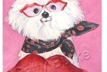Bichon Valentines / It's Valentine's Day EVERY day with a Bichon!