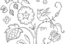 EMBROIDERY / Collections of embroidery patterns and almost everything about embroideries.