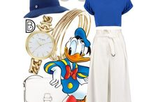 DisneyBounding / Disneybounding is creating an outfit inspired by a Disney character.
