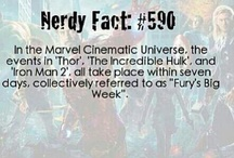 Nerdy Facts / Pins of Nerdy Facts I like