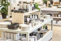 Inspiratie magazine / Amenajari interioare pentru magazine