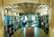 Chained Library at Hereford Cathedral / Venables provided joinery for the Chained Library at Hereford Cathedral, including Herefordshire oak trusses and the cedar lined roof.