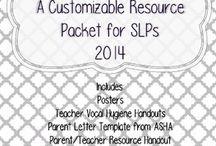 Parent/Teacher Resources