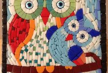 Mosaic Owls & Birds