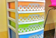 Organization Ideas / by Connie Stewart - - Simply Simple Stamping