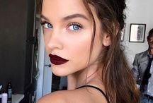 Dark lip make up looks