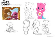 How to drawing Care Bears