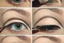 make up anni 70 eye makeup
