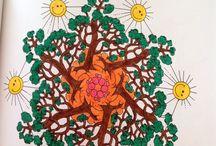 Mandala / Mandala boyama