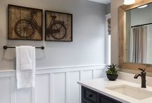 Bicycle Themed Bathroom
