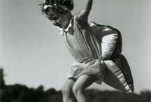 Childhood roller skating