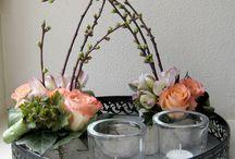 Blomster/dekoration til hverdag og fest