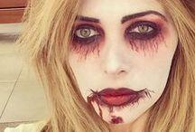 Schminkanregung Halloween