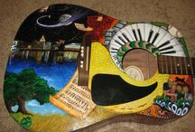 Guitars... / by Janet Howard