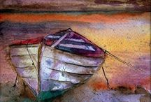 barque en bateau