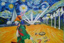my art- Crist Vera / I miei dipinti