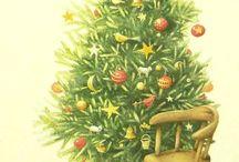 karácsonyi dekupázs képek